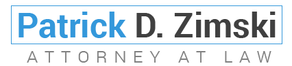 Patrick D. Zimski Attorney at Law, Logo